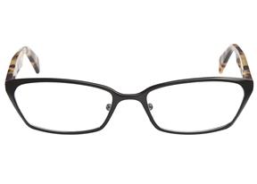 woman's glasses